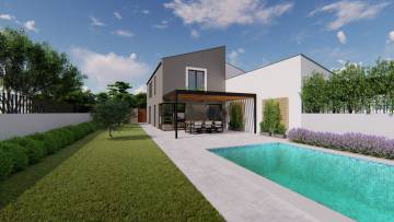 Modern villa for sale in the centre of Poreč